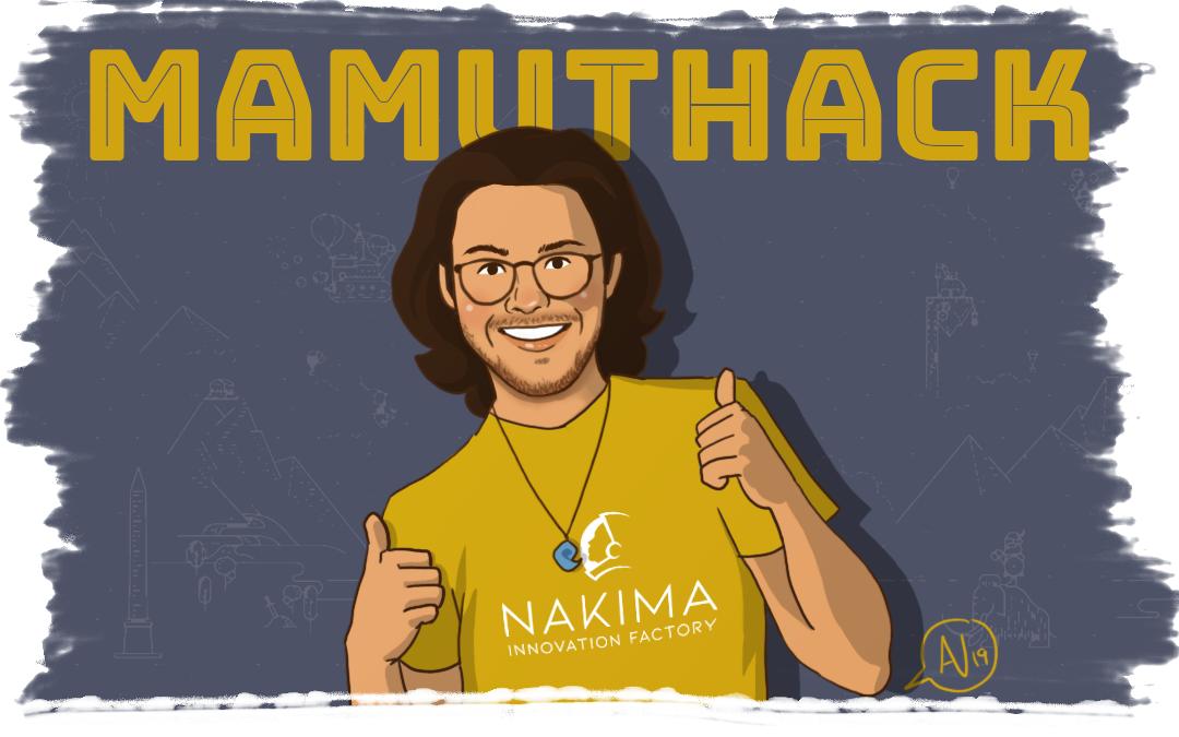 Pau Escofet de Nakima en el Mamuthack